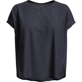 Odlo Maha Camiseta Manga Corta Cuello en V Mujer, odyssey gray